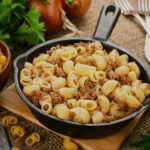 Как вкусно приготовить макароны на сковороде