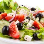 Греческий салат: Классический рецепт приготовления салата в домашних условиях