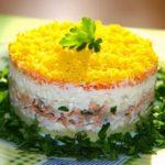 Салат мимоза. 5 классических рецептов приготовления салата с рыбными консервами
