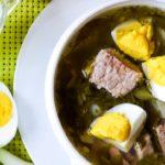 Зеленый борщ из щавеля с яйцом. Как приготовить зеленый борщ по классическому рецепту