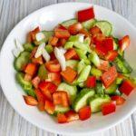 Салаты из свежих огурцов: 7 очень вкусных и простых рецептов