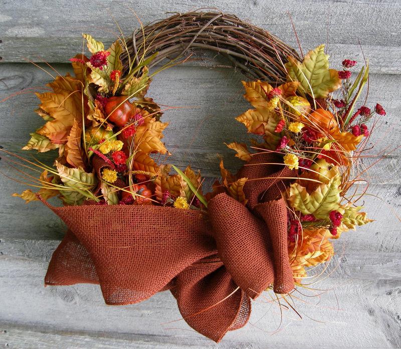 17-19 Поделки своими рукам на тему осень в садик из природного материала
