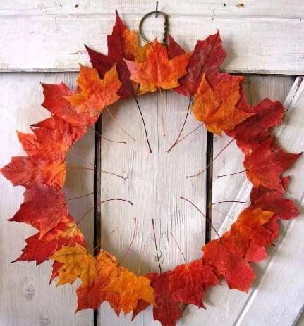 458-5 Поделки своими рукам на тему осень в садик из природного материала