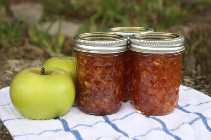 Варенье из поздних сортов яблок