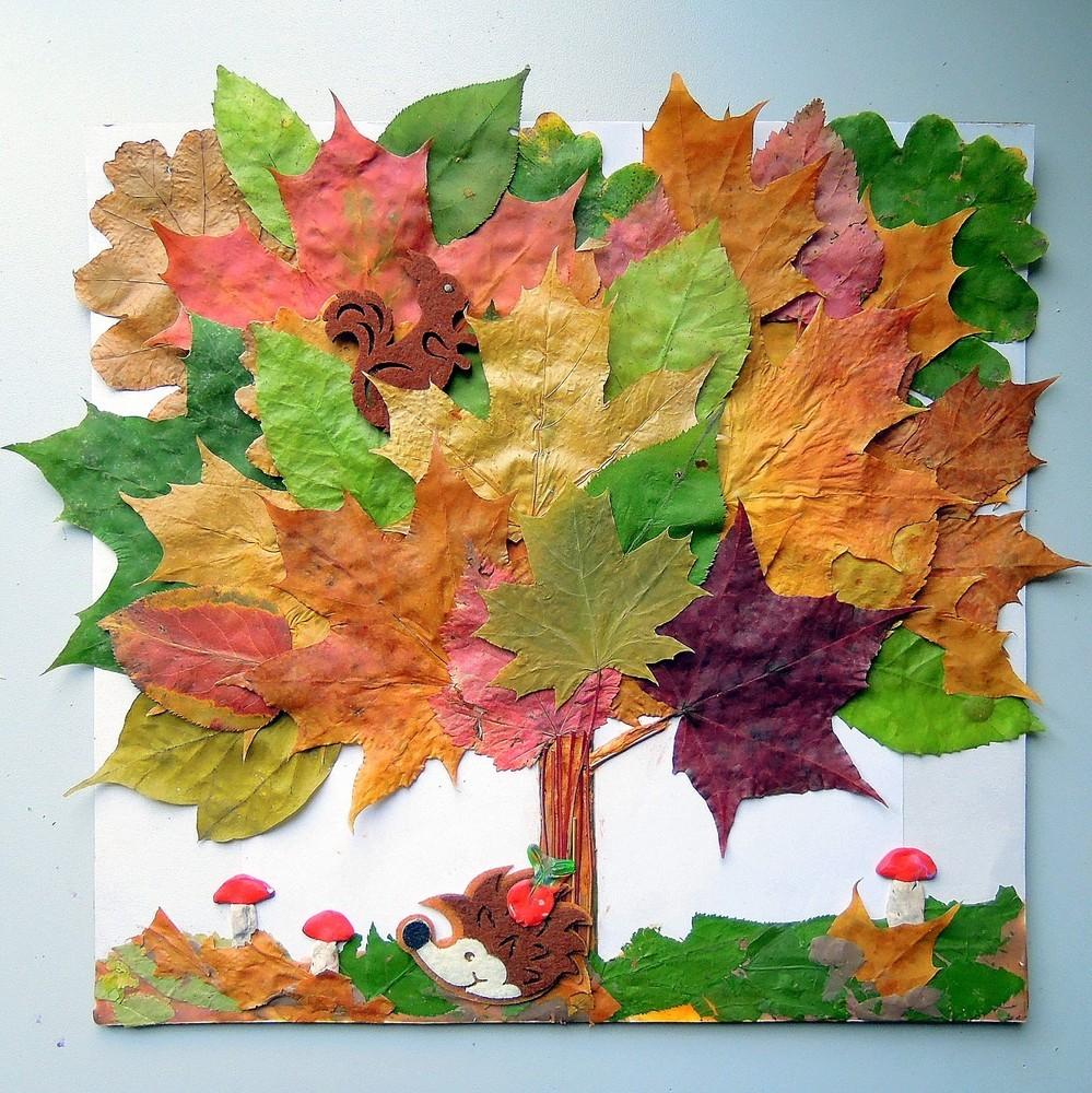 DSCN0605 Поделки своими рукам на тему осень в садик из природного материала