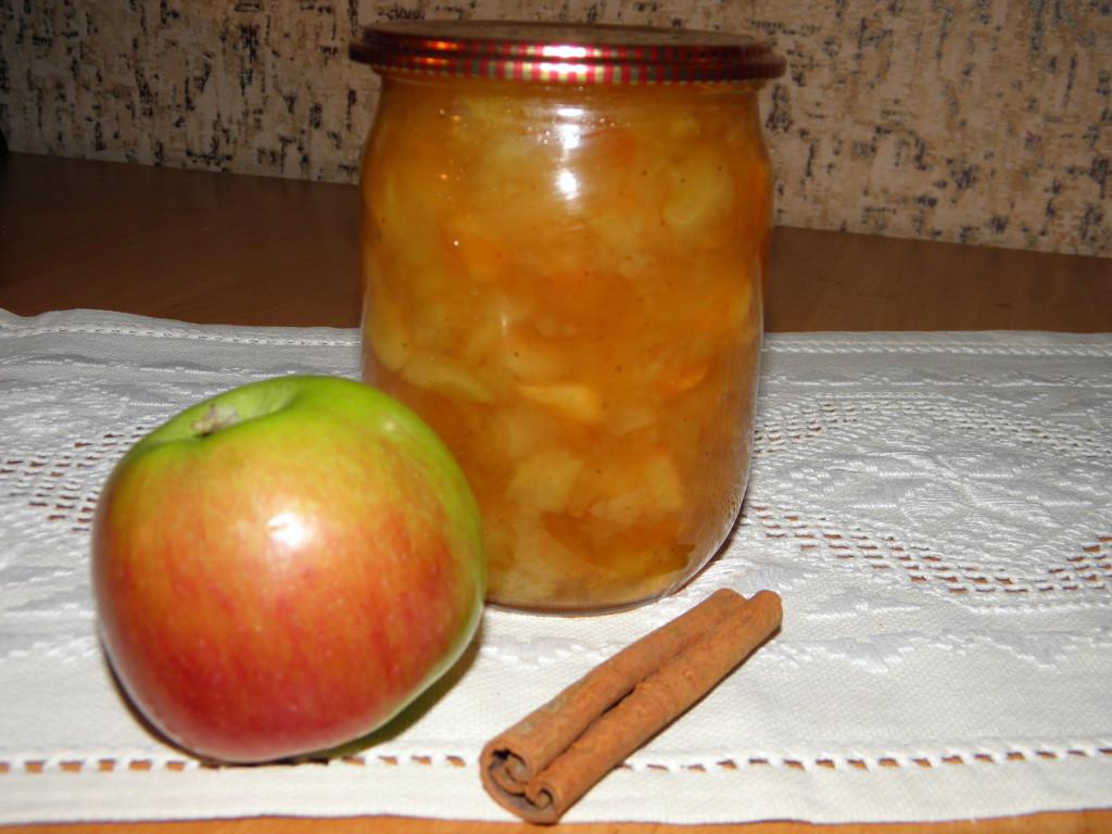 Яблочное варенье из мягких яблок