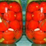 Консервированные помидоры на зиму без стерилизации — простые и вкусные рецепты на 2-х, 3-х и 1 литровую банку