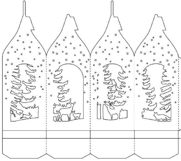 Ажурный домик из бумаги шаблоны для распечатки, картинки любимому парню