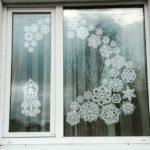 Снежинки из бумаги на окна к новому 2019 году — шаблоны и трафареты для вырезания