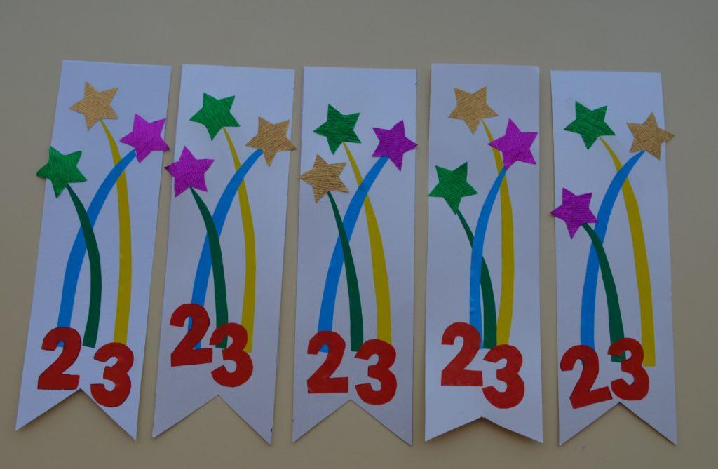 Открытки аппликации на 23 февраля в детском саду, мужская открытка