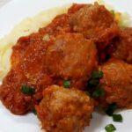 Тефтели в духовке с томатной подливкой пошаговый рецепт с фото