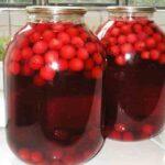 Компот из вишни (черешни) с косточками на зиму. Простой и вкусный рецепт вишнёвого компота