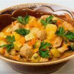 Как приготовить рагу из овощей с картошкой, капустой и кабачками
